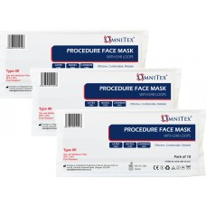Omnitex Type IIR Premium Face Mask with Ear Loops 120 packs x 10pk - Bulk Wholesale